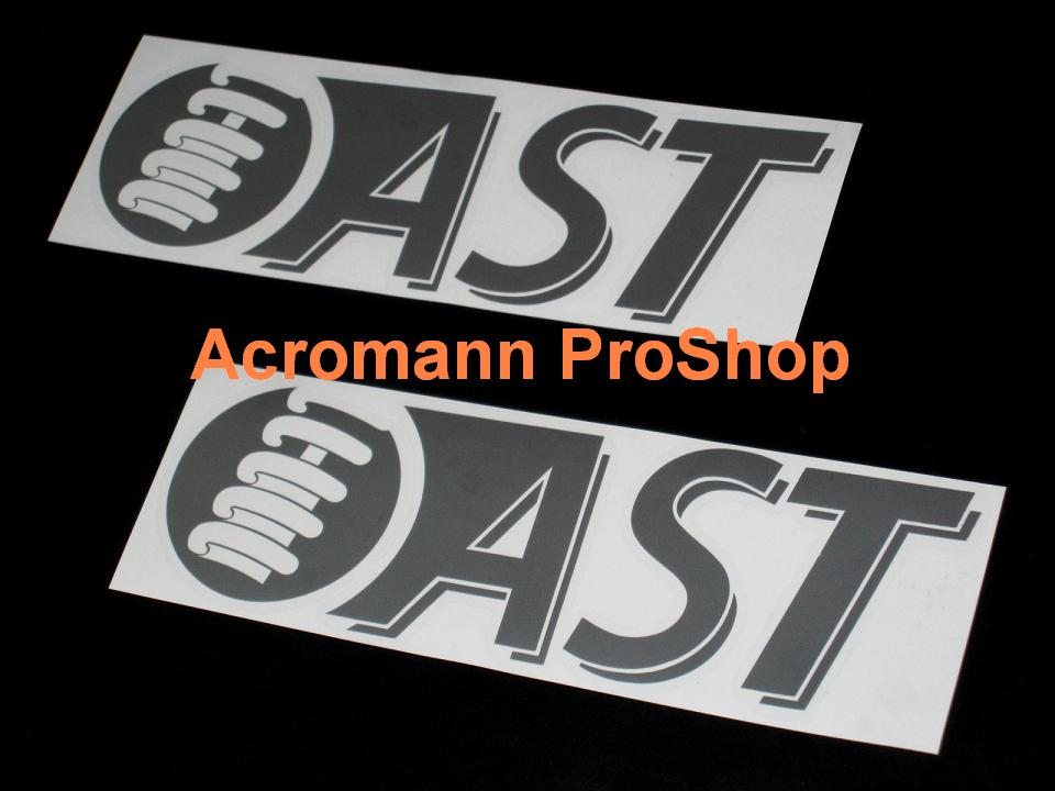 AST Suspension 6inch Decal x 2 pcs
